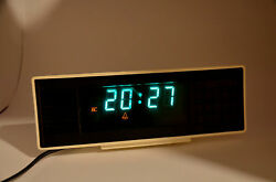 Vintage Russian Table Alarm Clock Watch Elektronika 7-21 Digital Led Electrical