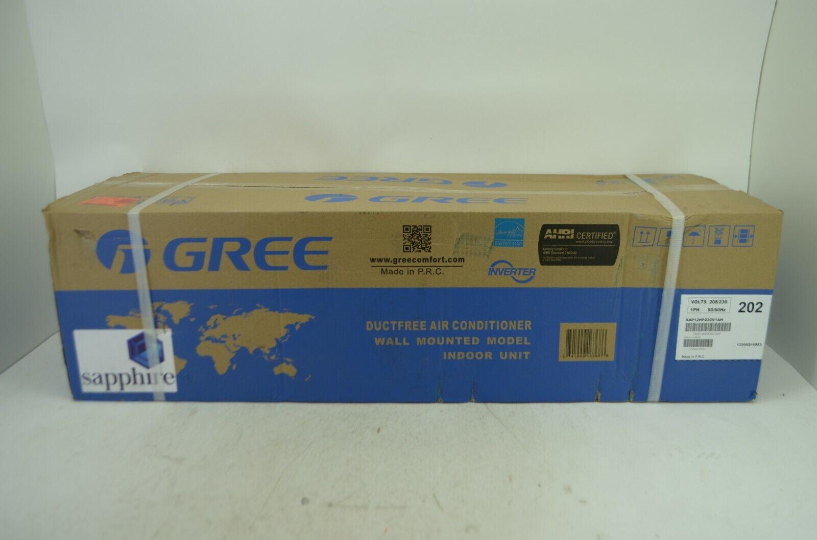 Gree 12,000 BTU 30.5 SEER SAPPHIRE Mini Split A/C Heat Pump