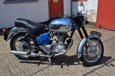 1962 ROYAL ENFIELD 350 BULLET  BLACK/BLUE