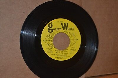 THE DEBONAIRES: PLEASE DON'T SAY WE'RE THROUGH; VG++ NORTHERN SOUL 45 RPM