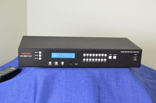 Digital Extender HS-88M Plus HDMI 8X8 Matrix Router in great shape