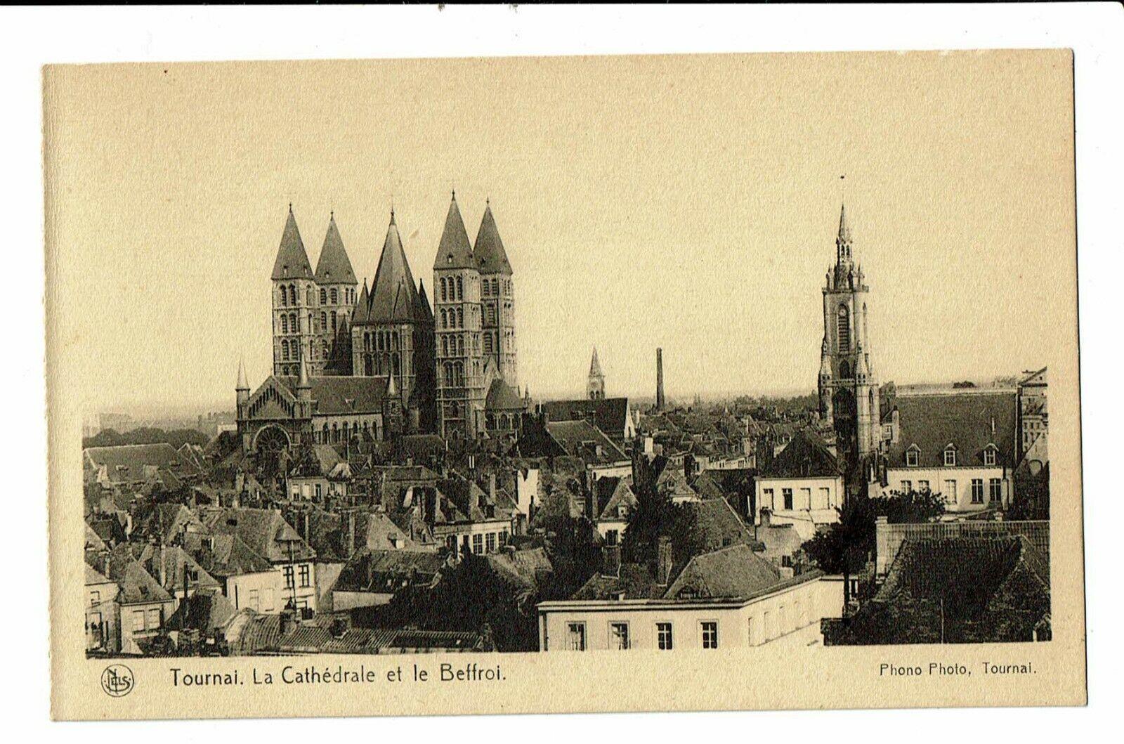 CPA-Carte postale-Belgique- Tournai - Cathédrale et Beffroi  VM655