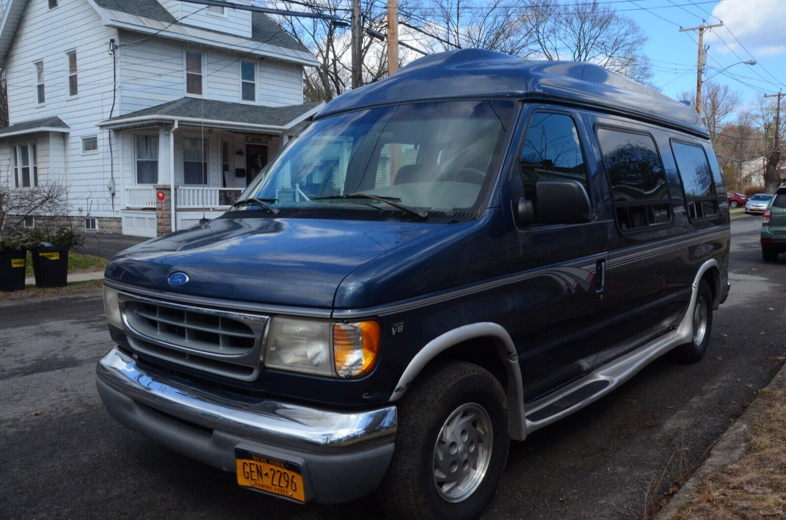 1997 Ford E150 Econoline Conversion Van for Parts or Rebuild Project Vehicle