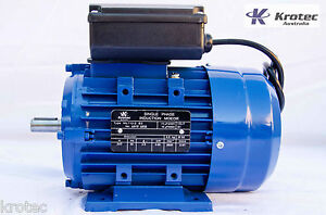 Electric-motor-single-phase-240v-0-55kw-3-4-hp-2820rpm