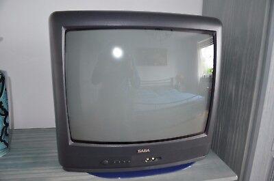 SABA M5115ET, Type 629 TV 50 cm Bilddiagonale, 50 Hertz Bild mit S-Video, Scart Diagonal Video