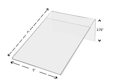 - Slant Back 5 x 7 Frame Sign Display Holder Picture Frame Wholesale Clear Acrylic