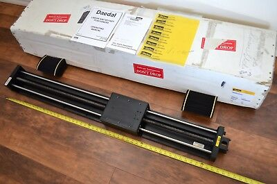 New 50 Parker Daedal 506042et Linear Ballscrew Actuator Nema23 W Bellows - Thk