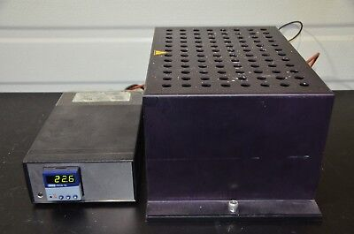 Thermo Electron 96 Tube Sample Tray Thermostated Block Heater With Temp Control