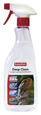 Beaphar Profundo Limpiar Desinfectante Reptil 500ml - For Viveros Lagartos
