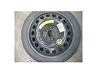 VAUXHALL ASTRA/CORSA/VECTRA SPACESAVER TYRE AND RIM