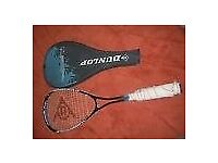 Dunlp Max TI squash racket in good condition