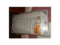 Myson & Finimetal white single radiators, new £20 each
