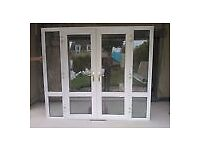 UPVC large patio door set