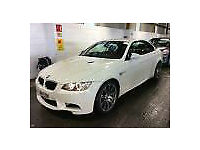 2011 11 Reg BMW M3 4.0 DCT M3 WHITE CONVERTIBLE WITH TAN LEATHER