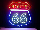 Large Beautiful Route 66 neon sign F.S.