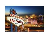 Las Vegas Travel Companion Required 20th-27th June 2017