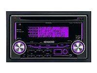 Kenwood cd/radio, displays coloured dials etc