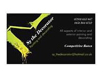 Sy the Decorator - Experienced Painter & Decorator