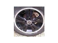 ALLOY WHEELS FOR RENAULT 4 STUD 15 INCH GOOD TYRES 130 POUNDS OR 100 WITH YOUR OLD WHEELS