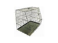 Sloping Dog Crate - SOLD