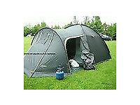 4 man tent plus tables portable cookers plus many accessories etc
