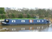 Narrowboat with Residential Mooring