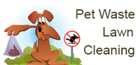 Pet waste yard cleaning