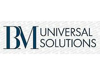 BM Universal Solutions for Website Design & Development, Software Development, Mobile Application