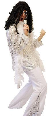 1970'S JAHRE Glam Rock Marc Bolan Style Maskenkostüm in Allen Größen SML-XXXXL