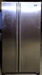 Stainless steel 620LT maytag fridge freezer   very good condition Seven Hills Blacktown Area Preview