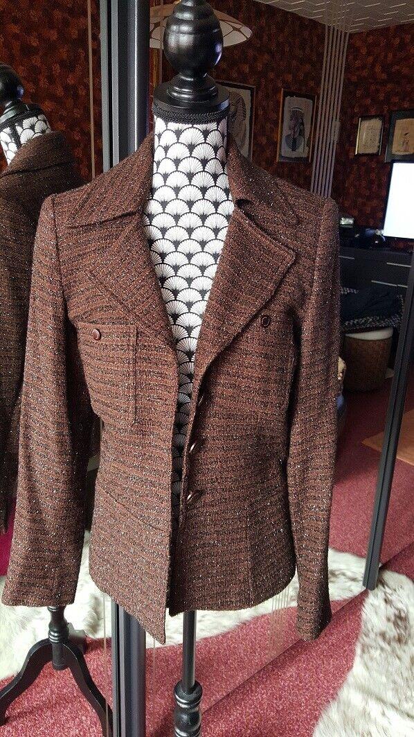 Veste en tweed vertigo - t36