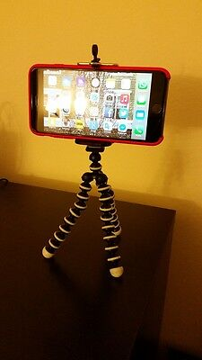 Lot of 25 Mini Octopus Springy Tripod Stand for iPhone Samsung LG GoPro Camara