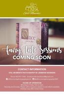 Fairy tale sessions coming soon