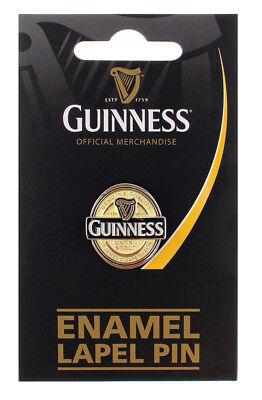 Guinness Lapel Badge Label