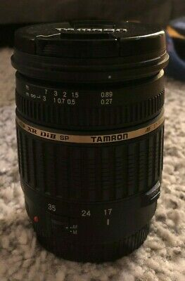 Tamron SP A016 17-50mm f/2.8 Di-II XR AF IF Lens For Canon