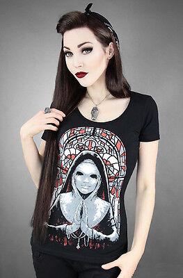 Restyle T-Shirt Evil Nun Religion Halloween Horror Gothic Lolita Dämon WGT RS29 - Evil Nun Halloween