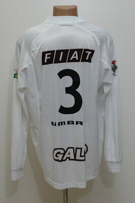 ATLETICO MINEIRO BRAZIL 2001/2002 HOME FOOTBALL SHIRT JERSEY UMBRO #3 SIZE XL image