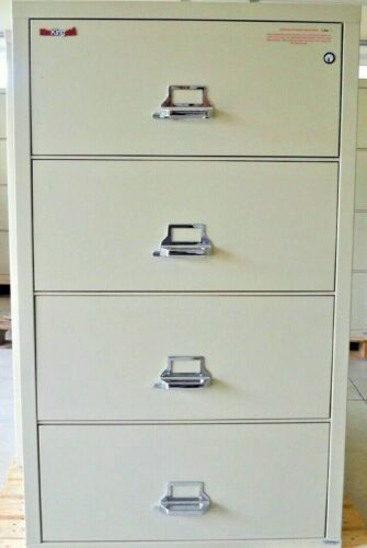 FireKing Fireproof 4-3122-C (4 Drawer) Lateral File Cabinet