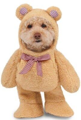Pet Dog Cat Teddy Bear Halloween Party Fancy Dress Costume Outfit Clothes - Dog Bear Halloween