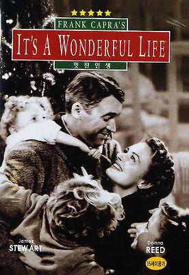 It's a Wonderful Life (1946) James Stewart, Donna Reed DVD *NEW