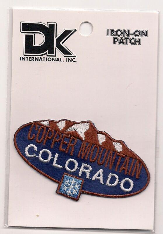 Copper Mountain Colorado Souvenir Ski Patch