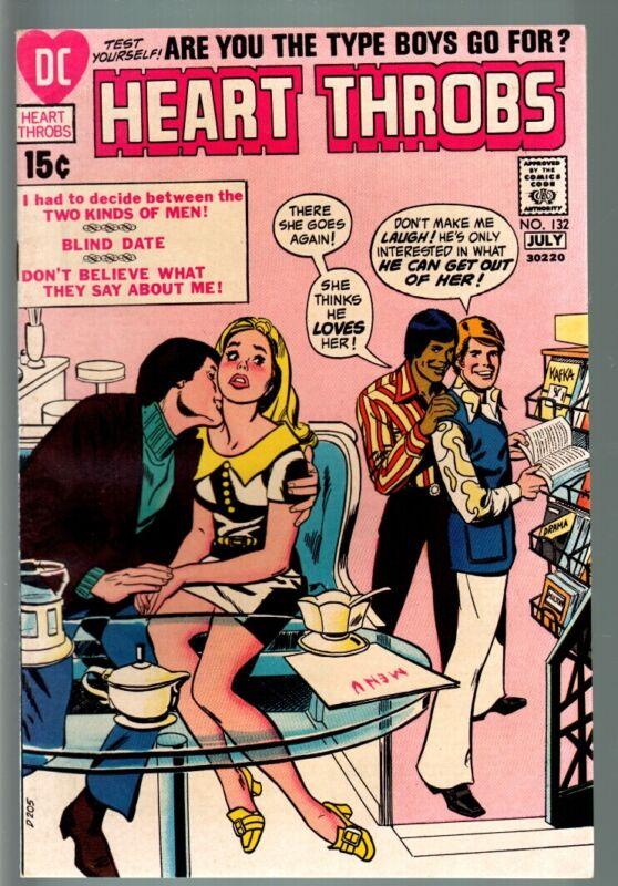 Heart Throbs #132 1971 - DC  -VF - Comic Book
