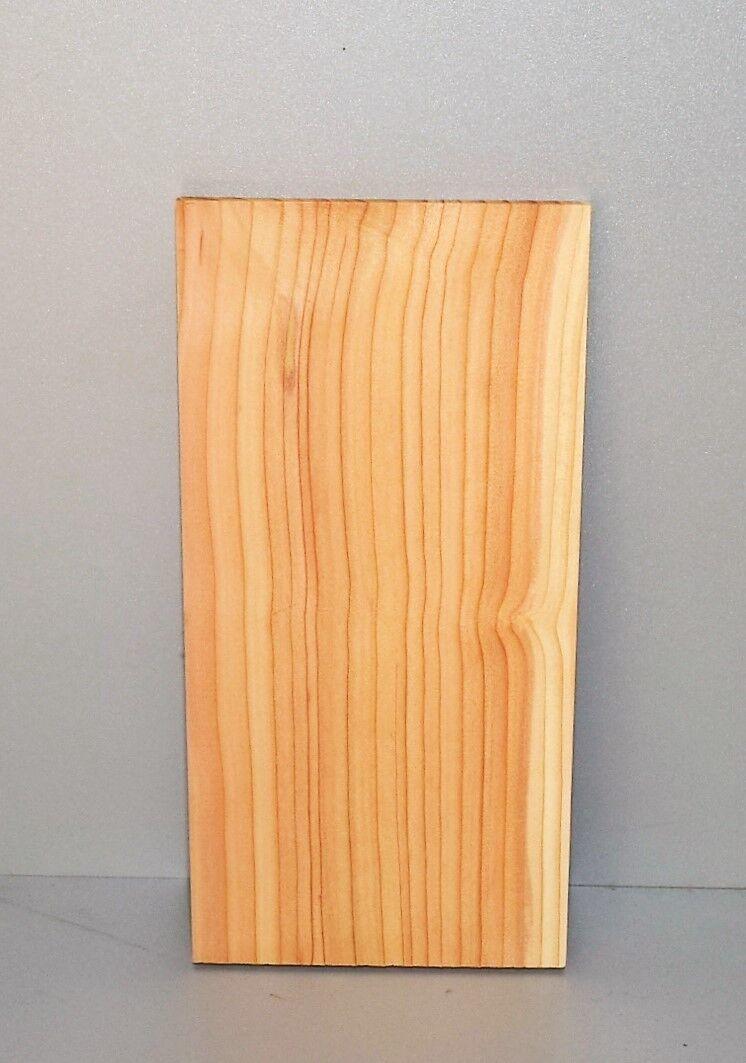 Grillbretter Räucherbretter Western Red Cedar Zedernholz 30x15x1,2