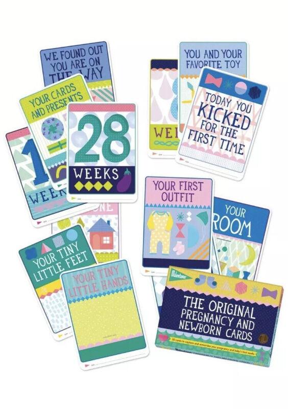 Milestone Cards-Pregnancy and Newborn Cards 30 piece set Pregnancy Milestone