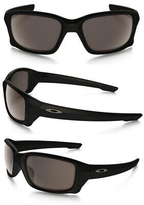 Oakley Sonnenbrille Asiatisch Passform Straightlink Matt Schwarz mit / Warm Grau