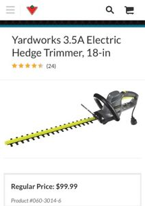 Hedge Trimmer - Brand New in Box