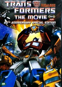 The Transformers: The Movie (1986) New Sealed DVD Animations