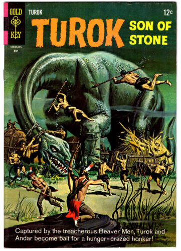TUROK SON OF STONE #51 in VF+ condition a 1967 Gold Key Silver Age comic