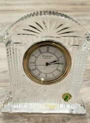 Waterford Crystal  6.5 Large / Shelf Westminster Clock