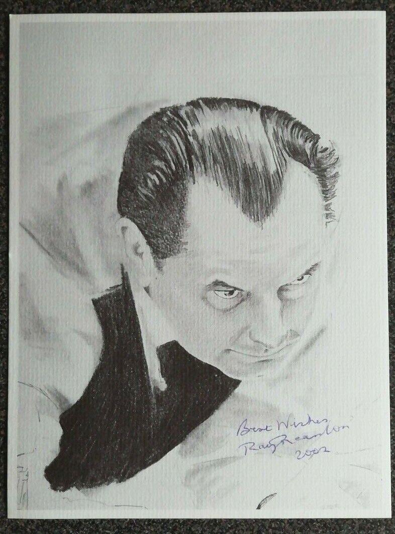 Ray Reardon autograph - Snooker
